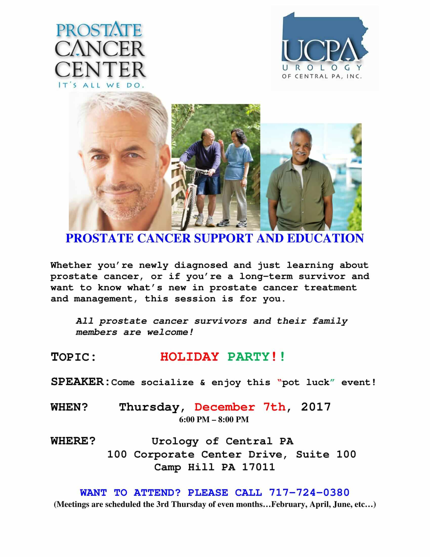 Prostate Cancer and Support Group